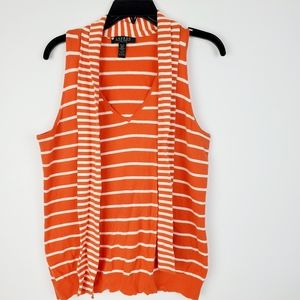 Lauren Ralph Lauren Petite Large Womens Orange